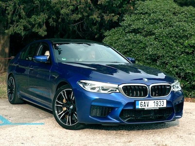 Video test BMW M5