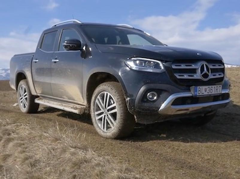 Video test Mercedes X 250d 4MATIC