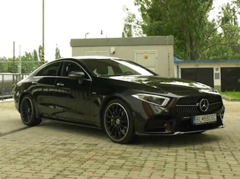Video test Mercedes-Benz CLS 400d 4MATIC