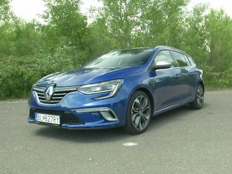 Video test Renault Megane GrandTour Tce 130