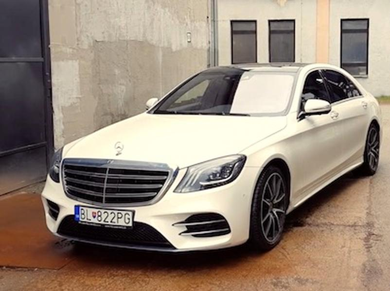 Video test Mercedes Benz S 400d