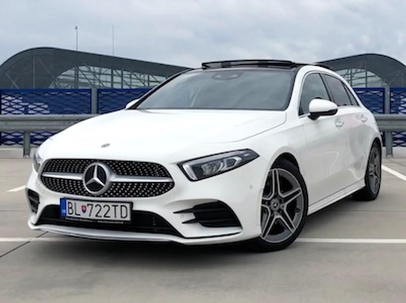 Video test Mercedes-Benz A180d
