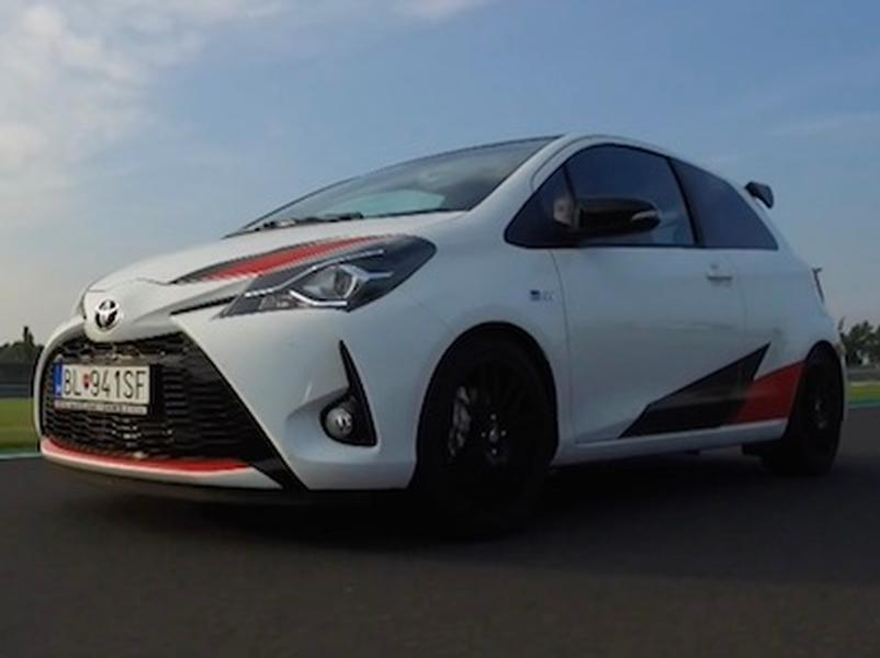 Video test Toyota Yaris GRMN