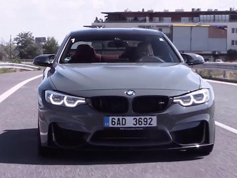 Video test BMW M4 Competition