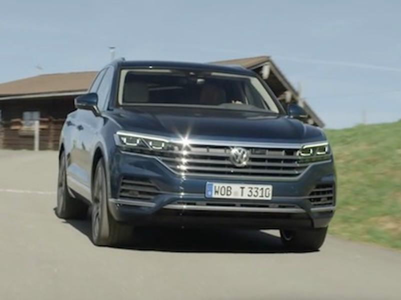 Video test Volkswagen Touareg