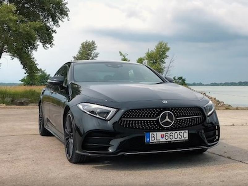 Video test Mercedes-Benz CLS 400d