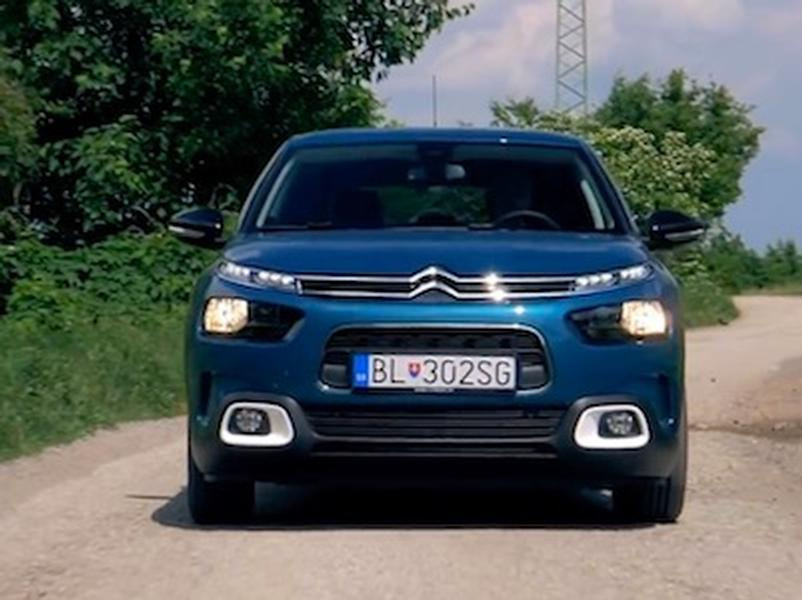 Video test Citroen C4 Cactus