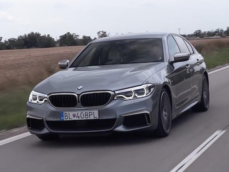 Video test BMW M550d