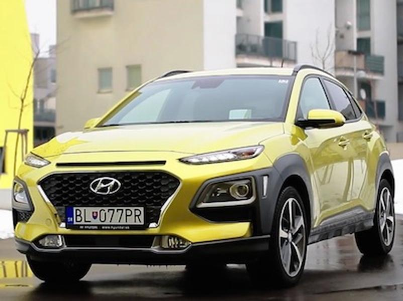 Video test Hyundai Kona 1,6 T-GDi 4WD