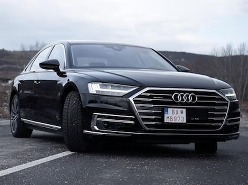 Video test Audi A8 50 TDI 3.0 V6