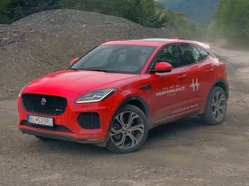 Video test Jaguar E-Pace 2.0 AWD