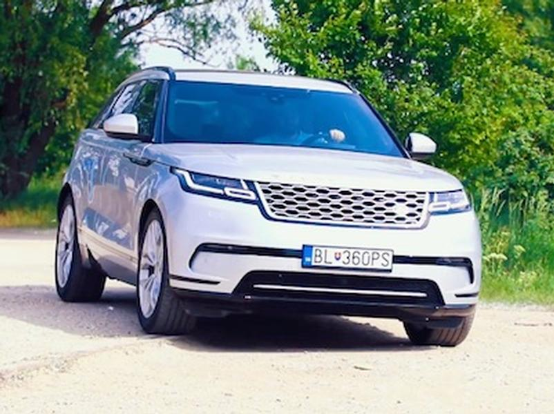 Video test Range Rover Velar