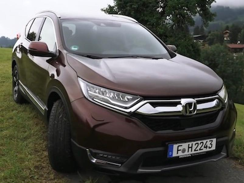 Video test Honda CR-V 1,5 VTEC Turbo AWD