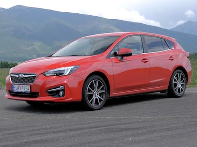 Video test Subaru Impreza 1,6 i-S
