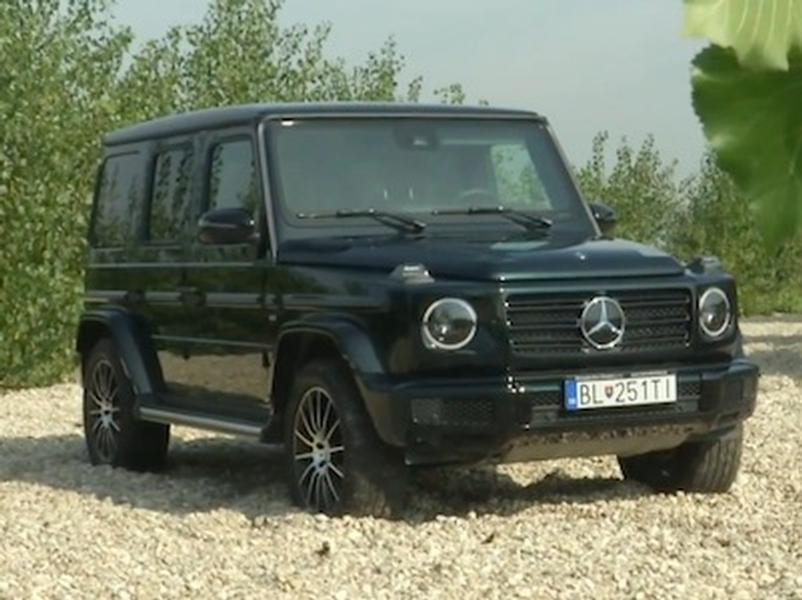 Video test Mercedes-Benz G500