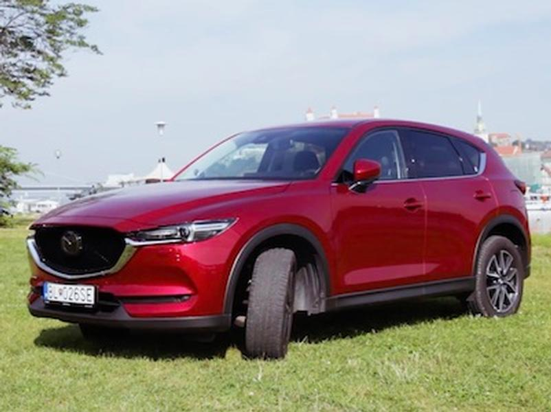 Video test Mazda CX-5 2.5 Skyactiv-G AWD AT