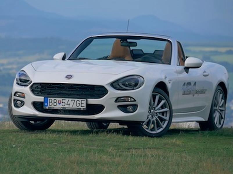 Test Fiat 124 Spider 1,4 MultiAir