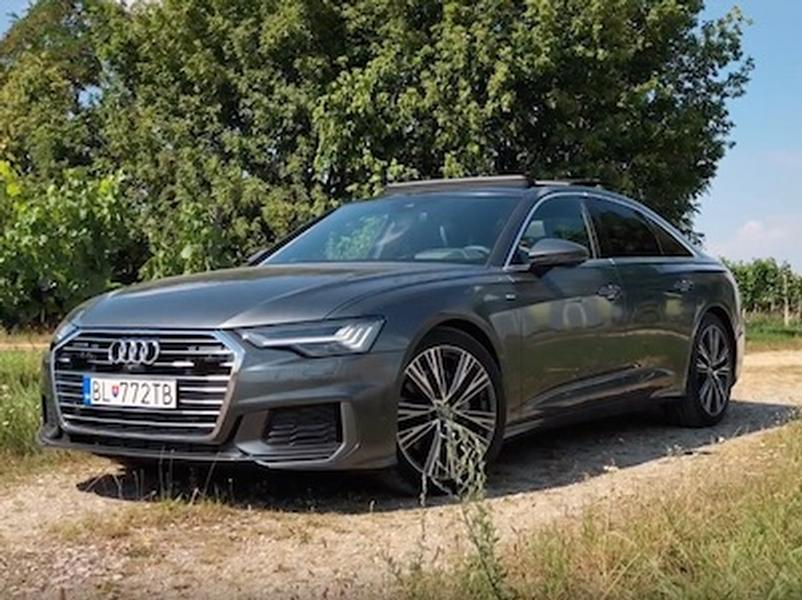 Video test Audi A6 50 TDI quattro