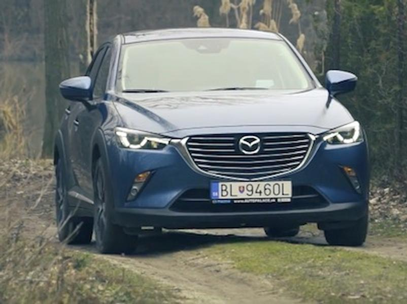 Video test Mazda CX-3 Skyactiv-G150 4WD