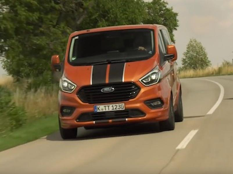 Video test Ford Tourneo Custom