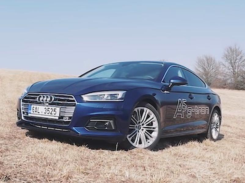 Video test Audi A5 g-tron