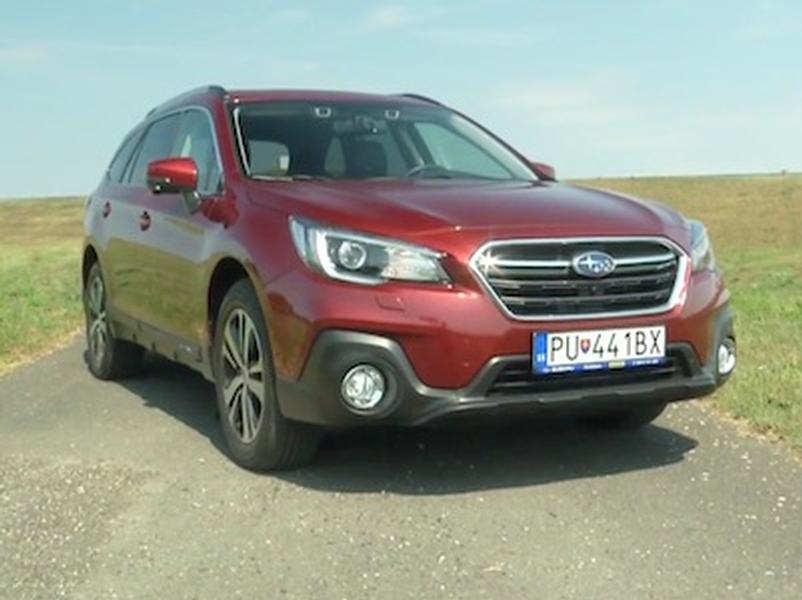 Video test Subaru Outback 2.5i CVT