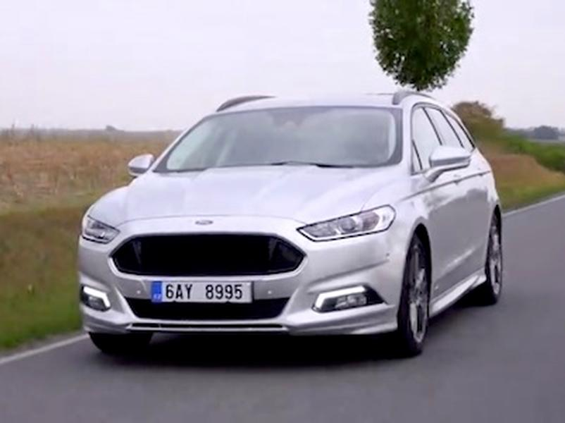 Video test Ford Mondeo ST-Line