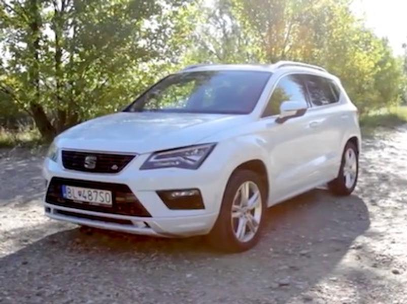 Video test Seat Ateca FR 2.0 TSI