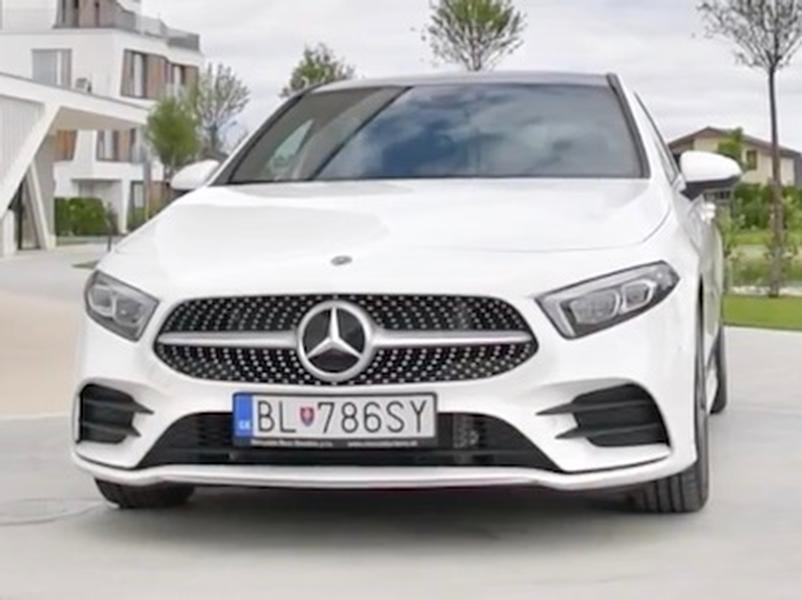 Video test Mercedes-Benz A200