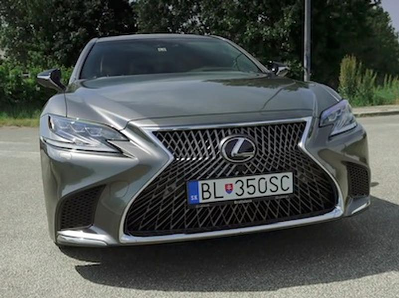 Video test Lexus LS 500h