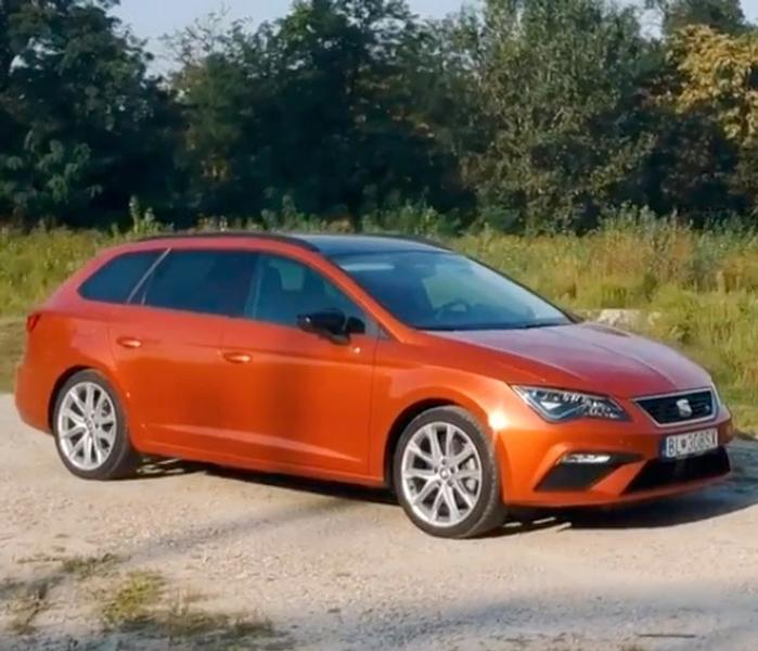 Video test Seat Leon ST FR