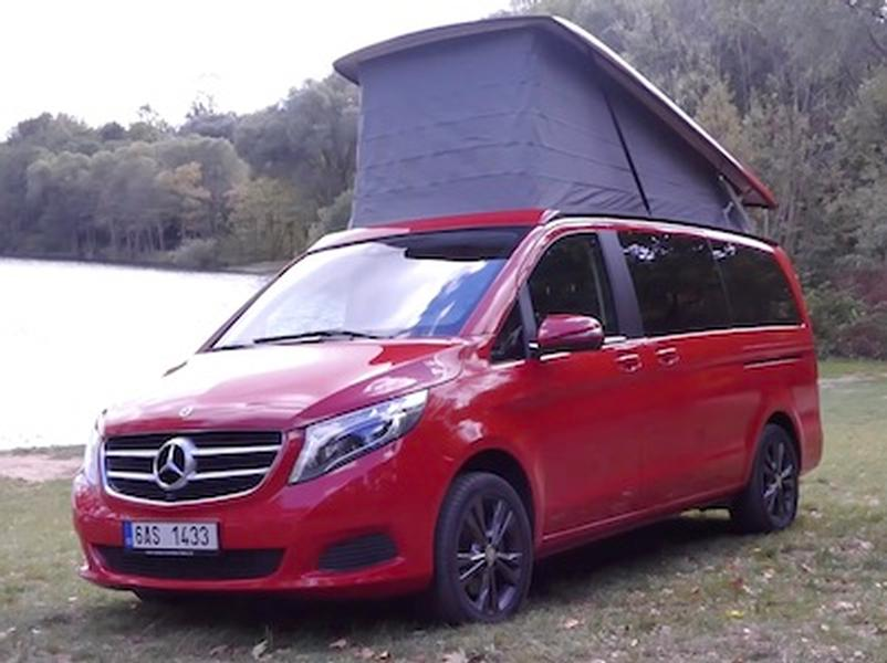 Video test Mercedes-Benz V Marco Polo