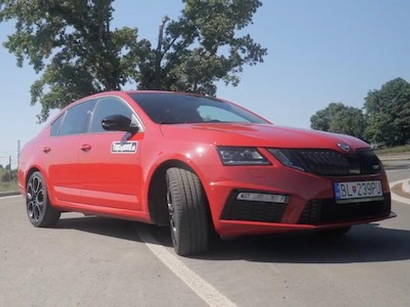 Video test Škoda Octavia RS245