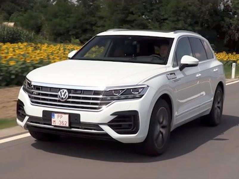 Video test Volkswagen Touareg 3.0 V6 TDI