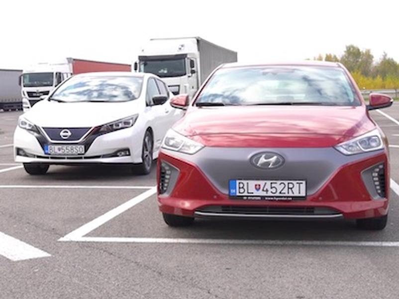 Test Hyundai Ioniq vs. Nissan Leaf