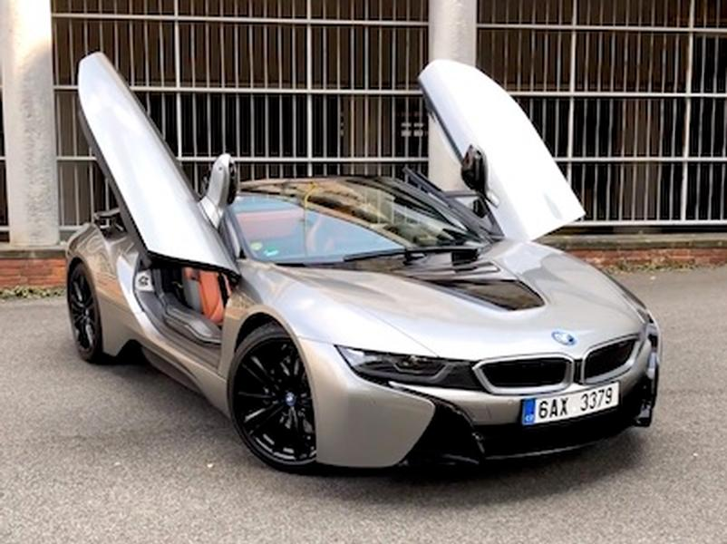 Video test BMW i8 Roadster