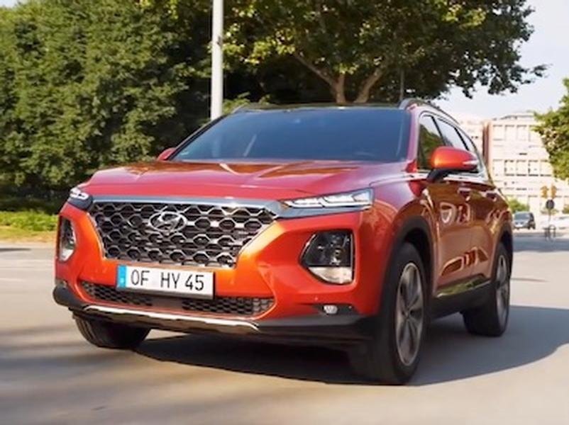 Video test Hyundai Santa Fe 2.2 CRDi