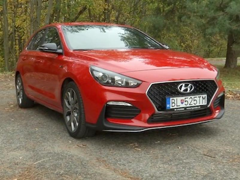 Video test Hyundai i30 N Line