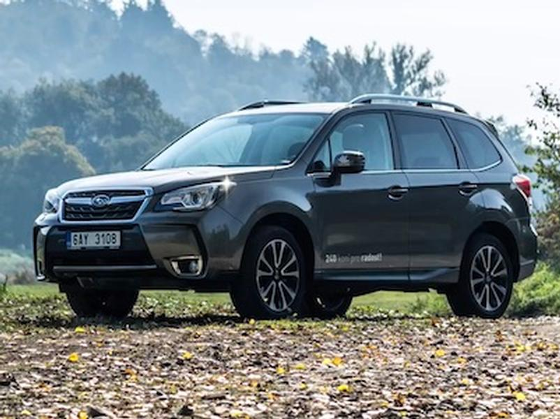 Video test Subaru Forester XT