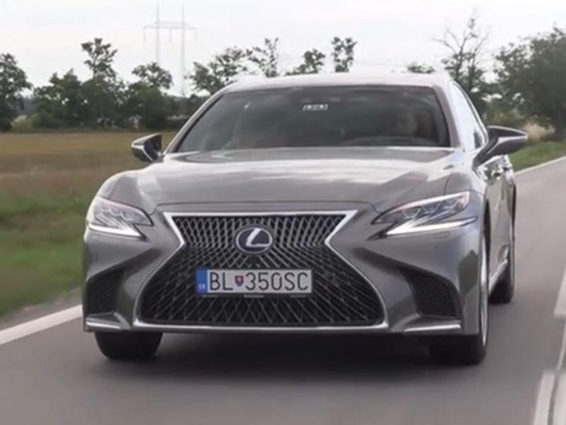 Video test Lexus LS500h