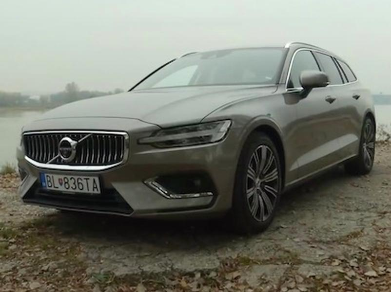 Video test Volvo V60 D4 AT