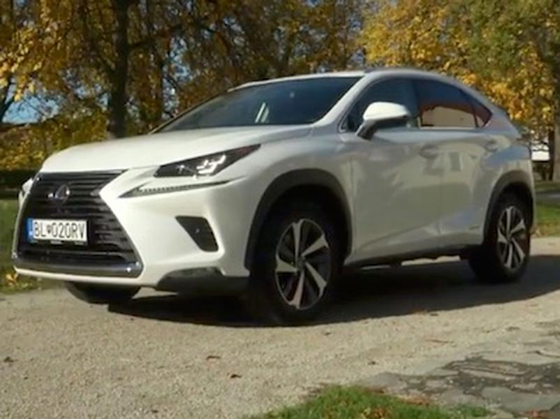 Video test LEXUS NX 300h 4x4