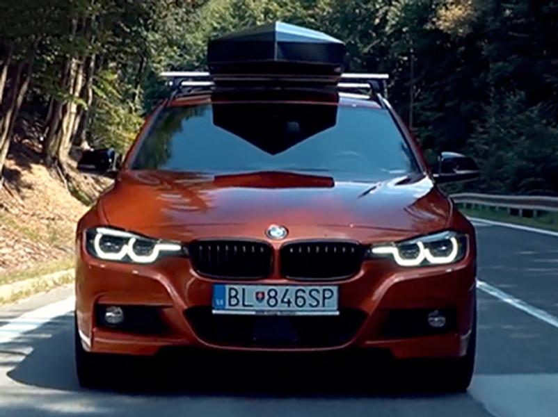 Video test BMW 340i Touring