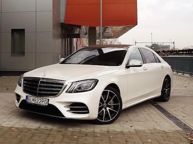 Video test Mercedes-Benz S400