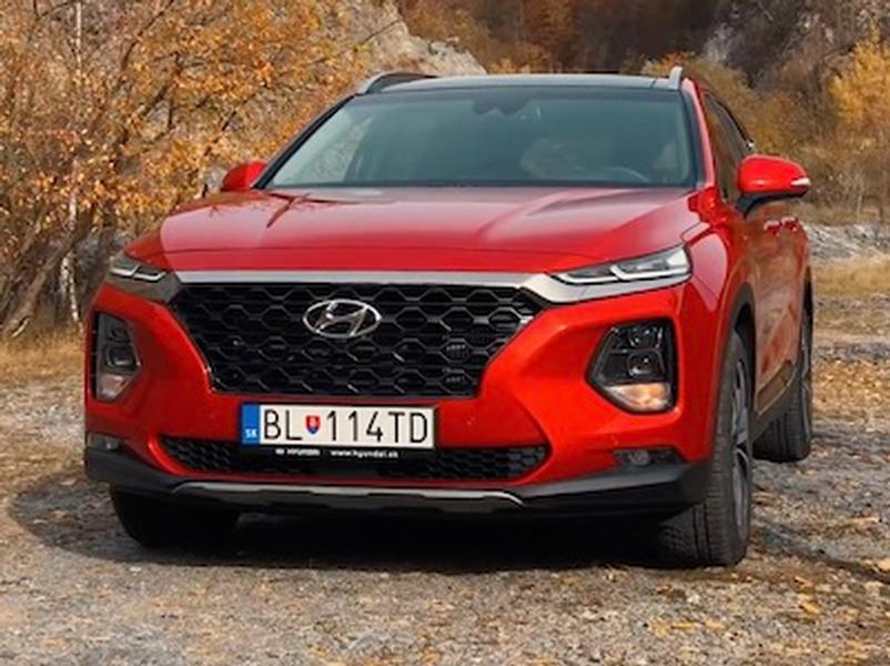 Video test Hyundai SantaFe 2.2 CRDi