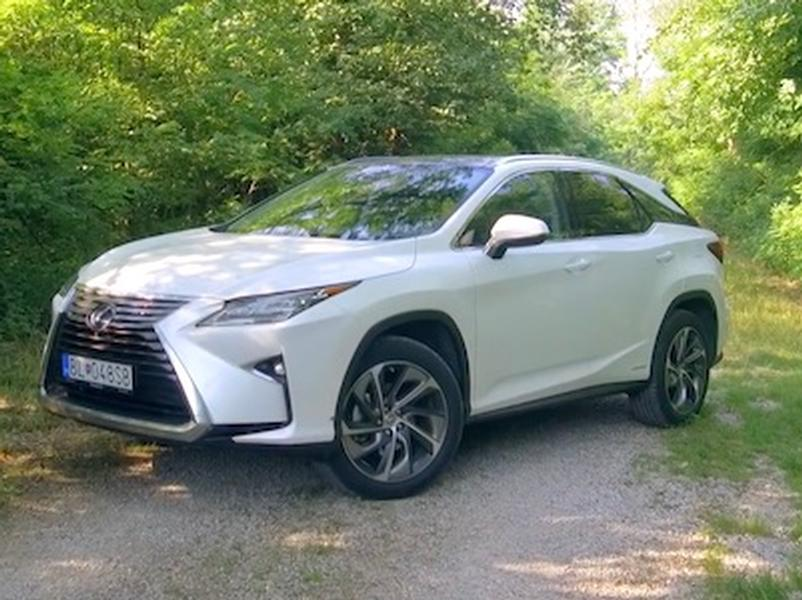 Video test Lexus RX450h