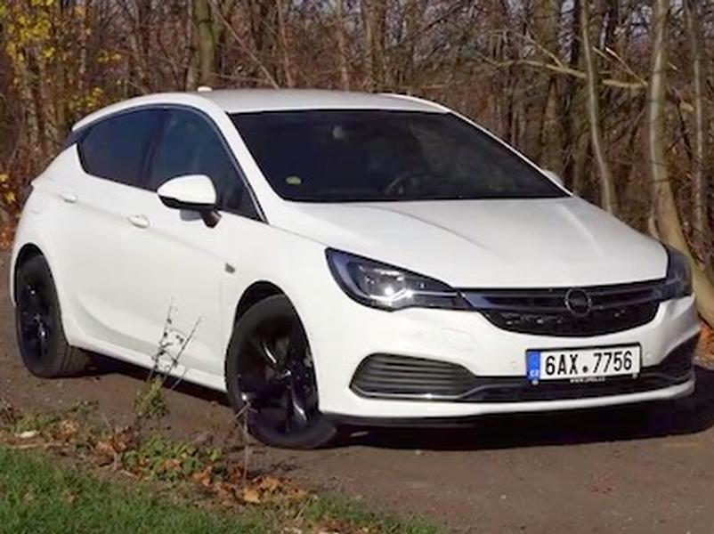 Video test Opel Astra 1.6 Turbo