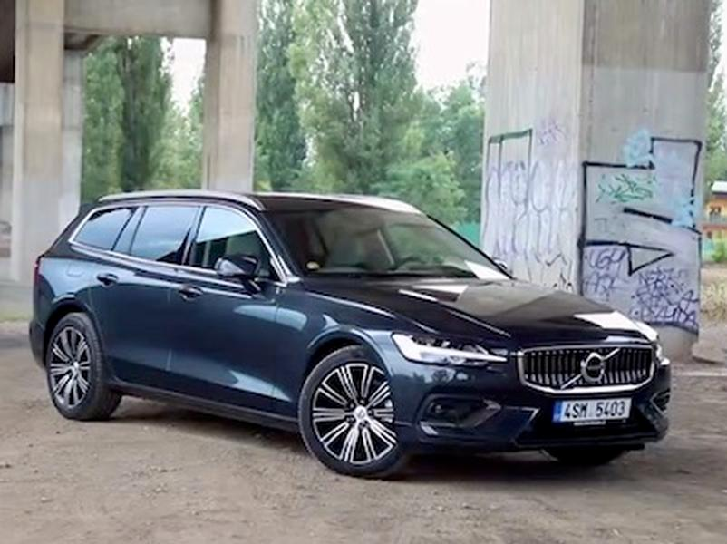 Video test Volvo V60