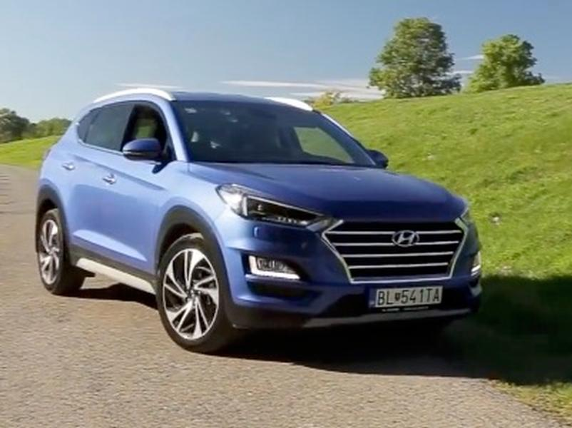 Video test Hyundai Tucson 1.6 T-GDi AWD