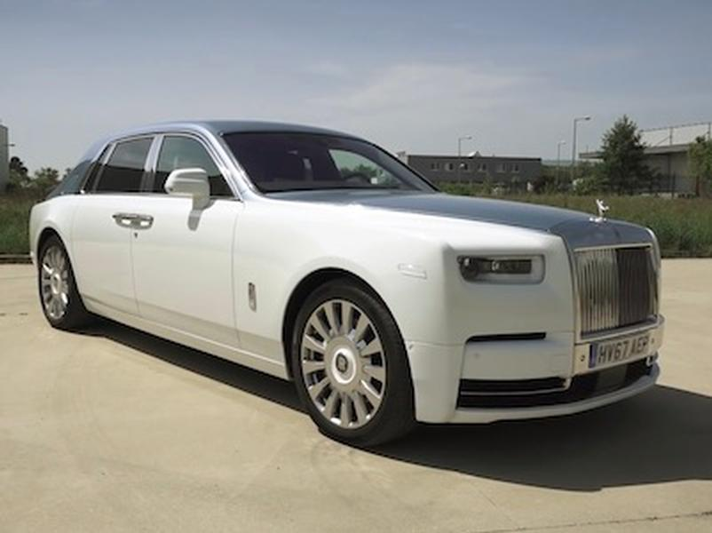Video test Rolls Royce Phantom V12